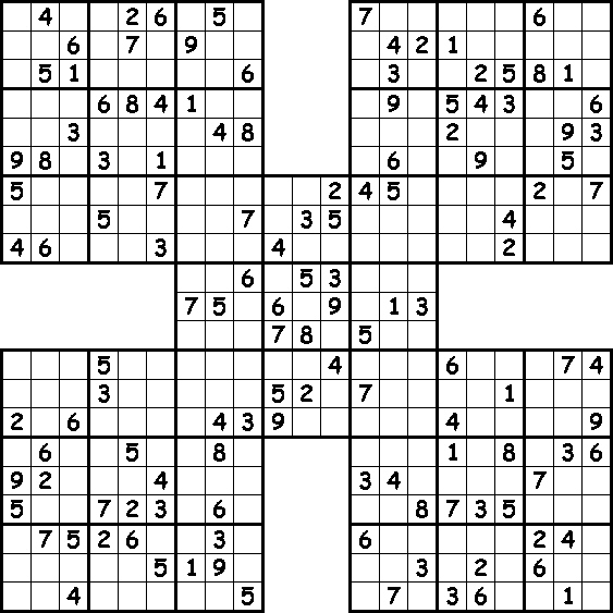 picture relating to Multi Sudoku Printable identify Illustrations of our puzzles